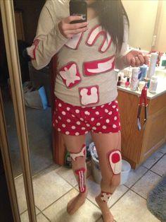 DIY Halloween costume Hasbro's Operation