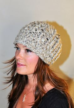 I really want a cute knit or crocheted hat for fall and winter.