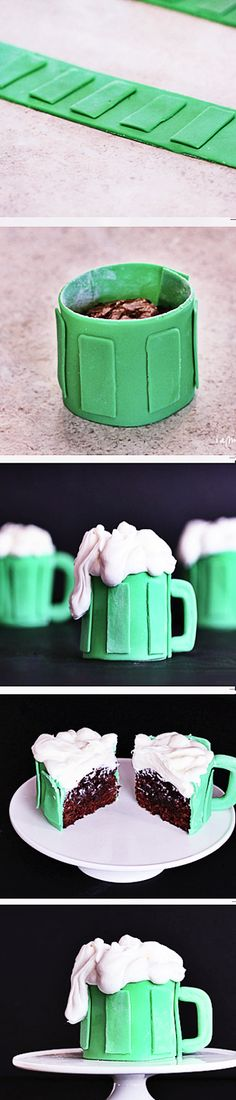 St. Patrick's Day RECIPES :DESSERT beer cupcakes