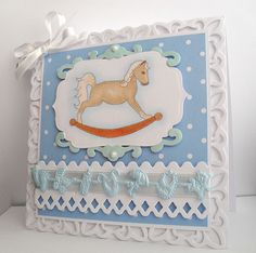 Rocking Horse Card Crafts Scrapbooking Layouts Scrapbook Cards Print And Cut