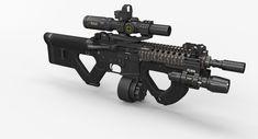 M4 Carbine, Long Rifle, Bleach Anime, Guns, Future, Architecture, Modern, Combat Gear, Weapons Guns