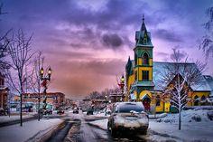 Petoskey Winter Scene