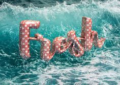 This tutorial will show you how to use Photoshop's 3D tools and material settings, along with a couple of images, filters and adjustment layers, to create a retro, summery, floatie-inspired text effect. Let's get started!