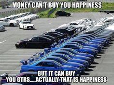#GTR = #Happiness www.teamimports.com www.facebook.com/365CarMods