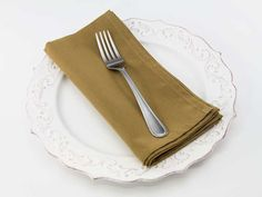 Dinner Napkin in Tobacco from Southern Sisters Home