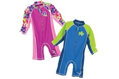 "Water Babies: Our Favorite Swim Gear for Little Tykes features our Sun Smarties Zip Suits. ""Kids can't wait to get into the sun and water, but swimsuits and sunscreen take time to put on. Stretchy and lightweight, this suit features instant 50+ UPF protection and a zipper that runs from neck to belly (with leg snaps on sizes 24 months and under), so you can hit the pool or beach in no time!"" @ParentMap and @kalisakai"