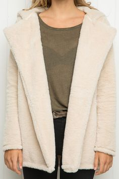 Brandy ♥ Melville | Sandra Fur Coat - Clothing
