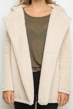 Brandy ♥ Melville | Sandra Fur Coat - Clothing