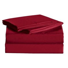 House of Hampton Macclesfield 1600 Thread Count Sheet Set Size: Queen, Color: Burgundy Wayfair Bedding, Royal Bed, Queen Sheets, 100 Cotton Sheets, Flat Sheets, Pillow Set, Queen Size, Sheet Sets, Colors