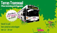 Terras Transvaal. Jamie's Oliver Fifteen. Elke zaterdag van 12 - 20 uur.  http://www.terrastransvaal.nl/