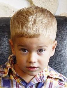 Little Boy's Caesar Haircut