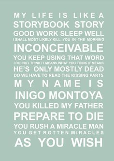 Movie quotes set 3 A3 subway wall art prints Star by HarperGrace