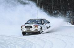 The seven-time Rally Sweden winner clues us in on how to tackle the white stuff in a car.