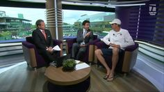 WATCH: Sam Querrey reflects on his first round match and talks about what he learned from last year's Wimbledon experience