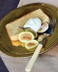 Polenta Pound Cake with Mascarpone and Rosemary Recipe on Food & Wine