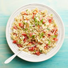 Weight Watchers Pasta Salad with Tomato and Basil!