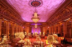 Wedding reception at The Plaza NYC