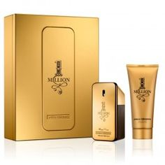 Paco Rabanne 1 Million Gift Set 2013 with 50ml Eau de Toilette Spray and 100ml Shower Gel; available at http://fragrance-house.co.uk/men/1059142-paco-rabanne-1-million-gift-set-50ml-edt-spray-100ml-shower-gel-3349668524273.html#