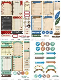 FREE Fall Themed Project Life Round-Up – Free Printable Download : Vintage Gglam Studio