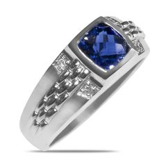 Ebay NissoniJewelry presents - .06CT Diamond Sapphire Ring in 10k White Gold with Patent Comfort Fit Hallow    Model Number:GRV2666A-W077CS    http://www.ebay.com/itm/.06CT-Diamond-Sapphire-Ring-in-10k-White-Gold-with-Patent-Comfort-Fit-Hallow/221630612877
