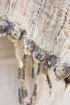 createcreatively:    Handwoven cotton scarf byMargita, Marijana, Hristina, Aleksandraon Etsy