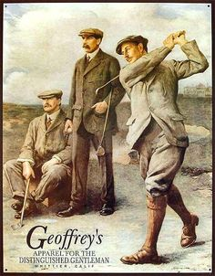 Geoffery's Apparel for the Distinguished Gentleman ad