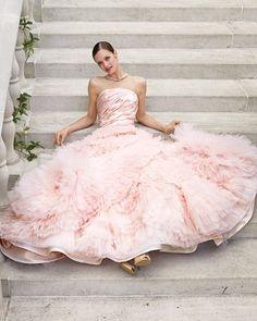 Pink Wedding Ideas - Love Pink Wedding Dresses!