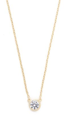 Shashi Solitaire Necklace affordable diamond necklace