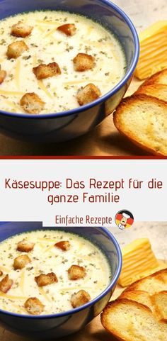 Cheese soup: the recipe for the whole family 😍 😍 😍 - Cheese soup: the . - Cheese soup: the recipe for the whole family 😍 😍 😍 – Cheese soup: the recipe for the wh - Easy Smoothie Recipes, Easy Smoothies, Easy Healthy Recipes, Healthy Snacks, Snack Recipes, Easy Meals, Coconut Recipes, Cream Recipes, Cheese Soup