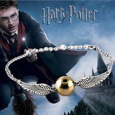 Harry Potter Quidditch Golden Snitch Bracelet