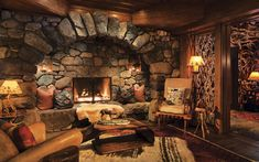 Discover Lake Placid Lodge, one of the best Lake Placid hotels located on the shores & designed to perfectly complement the timeless beauty of the North Woods. Rustic Fireplaces, Fireplace Hearth, Fireplace Design, Lake Placid Hotels, Lake Placid Lodge, Cabin Homes, Log Homes, Rustic Home Design, Cabin In The Woods