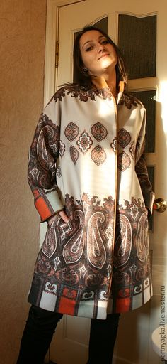 Верхняя одежда ручной работы. Ярмарка Мастеров - ручная работа Пальто Восток. Handmade.