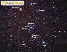gwiazdor oriona - Szukaj w Google Bellatrix, Weather, Google