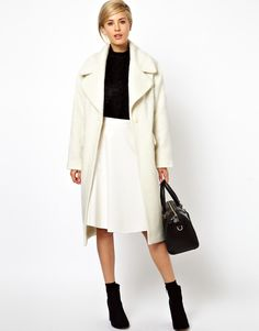 Vintage Style Cocoon Coat
