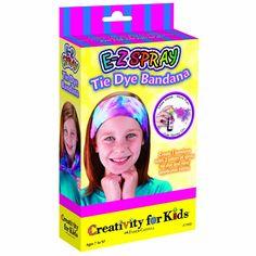 Creativity for Kids E-Z Spray Tie Tye Bandana Mini Kit