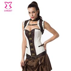 Clothing      Plus la Taille Corset Steampunk Vêtements Korsett Pour Femmes Corsets et Bustiers Burlesque Corpetes E Espartilhos Sexy Gothique Vêtements