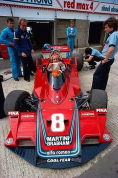 Hans-Joachim Stuck, Alfa Romeo flat 12 cylinder-powered Brabham BT-45