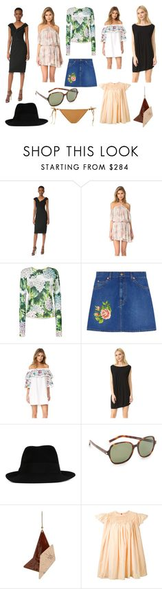 """Save Big On this..."" by donna-wang1 ❤ liked on Polyvore featuring Jason Wu, LoveShackFancy, Dolce&Gabbana, Gucci, Parker, Zero + Maria Cornejo, STELLA McCARTNEY, Yves Saint Laurent, JENNY FAX and Ermanno Scervino"