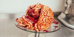 Comment faire un gâteau en forme de cerveau pour Halloween? Le résultat est bluffant !