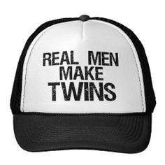 Real Men Make Twins Trucker Hats