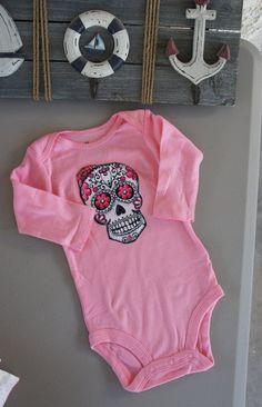 Olivia Paige  Little punk rock sugar skull by OliviaPaigeClothing