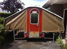 Dandy trailer tent folding camper