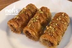 Hazır Baklava Yufkasından Çıtır Çıtır Burma Baklava Tarifi Turkish Recipes, Ethnic Recipes, Sweet Recipes, Sausage, French Toast, Food And Drink, Sweets, Breakfast, Karma