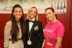 Beatrice De Tullio con il Sommelier della FISAR PAVIA e la Cantina Cà di Frara