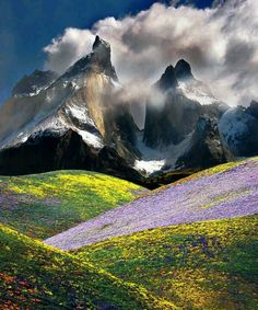 The Andes, Chile