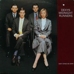 I remember buying this the day it came out. I always thought this Dexys image was the best, the Ivy League look. I also thought it was audacious to have the geezer from Atomic Rooster tickling the. Kevin Rowland, Atomic Rooster, Things To Think About, Things To Come, Stand Down, Pop Bands, Lps, Coming Out, Over The Years