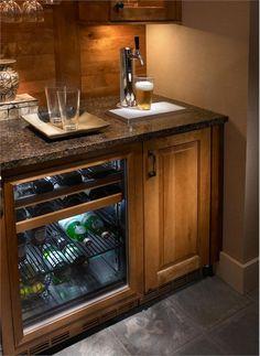 Beautiful Home Bar Beer Tap
