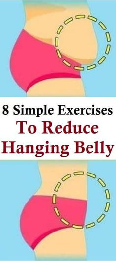 Exercises to Reduce Hanging Belly Lower Belly fat does not look good and it damages the entire personality of a person. reducing Lower belly fat and getting Fitness Workouts, Easy Workouts, Fitness Weightloss, Lower Belly Fat, Lose Belly, Belly Belly, Flat Belly, Body Weight, Weight Loss