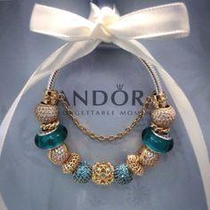 Pandora bracelet #GoldJewelleryLife