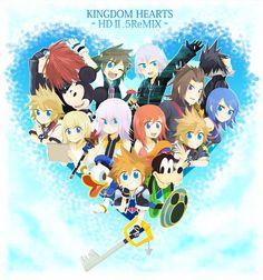 Pixiv Id 4314906, Disney, SQUARE ENIX, Kingdom Hearts: Birth by Sleep, Kingdom Hearts II, Kingdom Hearts 358/2 Days